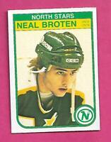 1982-83 OPC # 164 NORTH STARS NEAL BROTEN  ROOKIE NRMT CARD (INV# C7605)