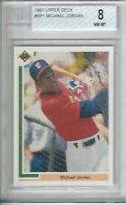 1991 Upper Deck Michael Jordan Chicago White Sox #SP1 Baseball Card BGS 8
