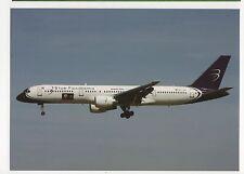 Blue Panorama Boeing B757-231 Aviation Postcard #2, B008