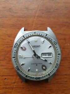 Vintage Seiko 6106 8100 early diver's watch from 1969