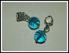 Alloy Blue Charm Bracelets