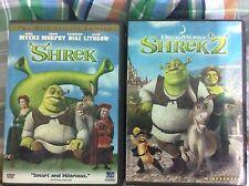 Original Used DVD: Shrek I and II