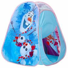 Official Disney Frozen 2 Foldable Play Tent Kids Elsa Anna Olaf Indoor/Outdoor