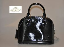 Authentic Louis Vuitton Epi Electric Alma BB Noir Black