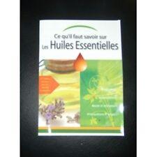 NatureSun Aroms - Livret sur les Huiles essentielles complet