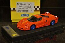 1/43 Bbr 1 of 1 Ferrari Enzo Fxx Rosso Corsa Orange stripe Matt Blue wheels 180*