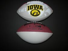 University of Iowa Autograph Football