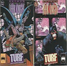 Batman Legends of The Dark Knight #45 & 46 (1993) Turf Lot of 2 comics D.C.