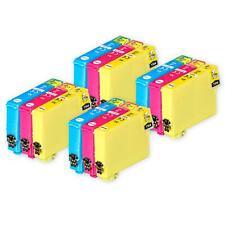 12 C/M/Y Ink Cartridges for Epson Workforce WF-2510WF WF-2540WF WF-2660DWF