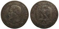 5 centimes Napoléon III 1855 D Lyon, ancre