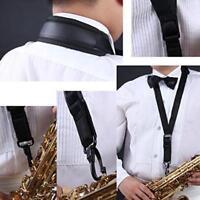 Adjustable Sax One Shoulder Harness Strap For Alto Tenor Universal Saxophone S