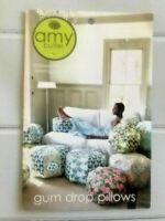 GUM DROP PILLOWS by Amy Butler - Pillow/Ottomon Pattern