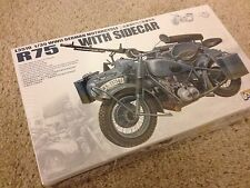 1/35 German WWII Motorcycle BMW R75 with Sidecar - Lion Roar L3510