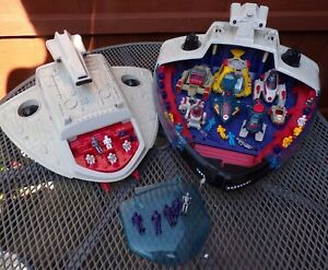 Manta Force Command Ship + Accessories Bluebird Toys Has Damage Spares Repairs