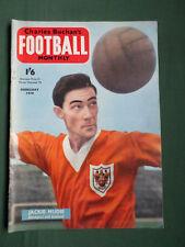 CHARLES BUCHAN'S- FOOTBALL MAG - FEB 1958 - WEST BROMWICH ALBION  -