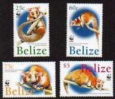 Belize Sc. #1177-1180 SG #1315-1318 WWF Opossum MNH