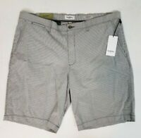 Goodfellow & Co. Men's Shorts Gray Striped Flat Front Linden Shorts Sizes 28-42