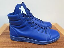 NEW Bikkembergs BikkSK8 Zip High Tops Athletic Shoes ELECTRIC BLUE size 37