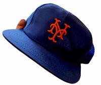 Vintage 80s New York Mets Trucker Dad Cap Hat MLB BASEBALL RARE CLASSIC USA OG
