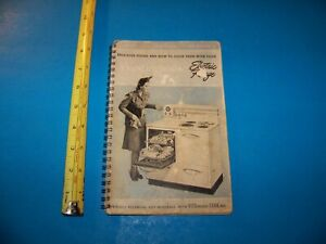 Westinghouse Electric Range  Owner's Manual Instructions & Recipes Vintage 1941