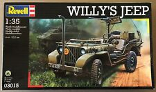 REVELL 03015 - WILLY'S JEEP - 1/35 PLASTIC KIT NUOVO