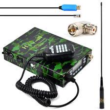 HYS 12000mAh 25W Dual Band Camouflage FM Ham Amateur Mobile Radio Transceiver