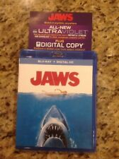 Jaws (Blu-ray Disc, 2014, Includes Digital Copy UltraViolet)Authentic US Release