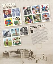 Celebrate the Century 1910s, Full Sheet of 15 x 32-Cent Postage Stamps, USA 1998