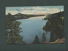 Lake Coeur d'Alene, Idaho, used  postcard, 1950, Tichnor Bros, ST 17