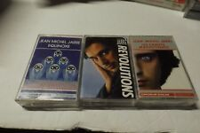 Jean Michel Jarre lot of 3 cassettes