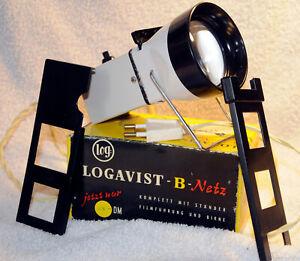 Log Logavist - B-Netz universeller Dia-Betrachter von Kleinfilm bis 4x4 cm OVP