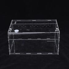 Reptile Lizard Insect Small Cage Alu Acrylic Reptile Breeding Box transparent
