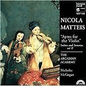 Matteis;Ayres for Violin V2, The Arcadian Academy, Mcgegan, New