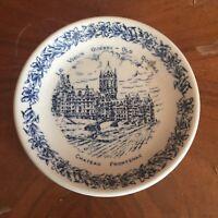 Vintage Le Vieux Quebec Wood & Sons Old Quebec Souvenir Small Plate