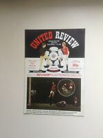 1982/83  Manchester United Football Programmes - Various Fixtures