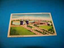 New York World's Fair   Maritime Building Vintage Postcard 1939