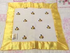 Angry Birds Swaddle Designs yellow white baby Security blanket flannel, satin