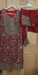 Pakistani Suit Wedding Dress partywear ready made