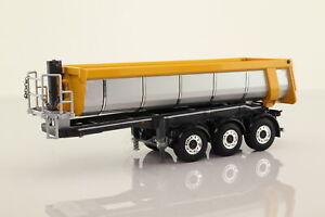 WSI Models; Bulk Tipper Trailer; Silver Metallic; V Good Unboxed