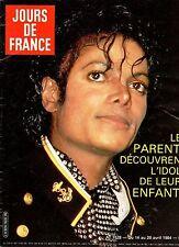 french magazine JOURS DE FRANCE N°1528 michael jackson diana 1984