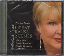 CD ALBUM CHRISTINE BREWER / GREAT STRAUSS SCENES / ERIC OWENS / NEUF, SCELLE