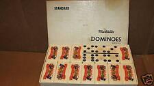 Vintage Dominoes Bakelite Marblelite Pic Texas celebrate