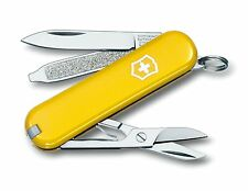 Victorinox Swiss Army Multi-Tool Classic SD Yellow 58mm Tube Pocket Knife 5