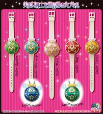 Bandai Sailor Moon Capsule Communicator Watch Accessory Gashapon Set of 7! NEW