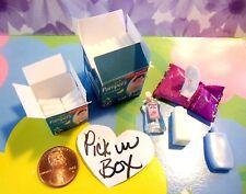 Barbie Doll Clothes Baby Nursery Mini Accs 1 Faux Diapers *U PIK BOX* NO POWDER!