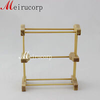 Fine miniature furniture 1/12 scale well made towel shelves for dollhouse