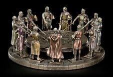 tafelrunde Figura - Rey Arthur con 12 Caballeros - Estatua Veronese
