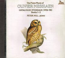 CD album: Olivier Messiaen: catalogue d'oiseaux. Peter Hill. unicorn. A