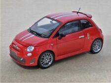FIAT 500 ABARTH 695 TRIBUTO FERRARI MONDO-MOTORS 1/24 (NO 1/43 1/18)
