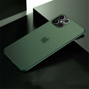 For iPhone 13 11 Pro Max 12 Mini Ultra-thin Matte Hard PC Clear Case Cover Skin